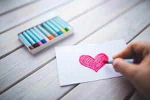 絵を描かせる課題